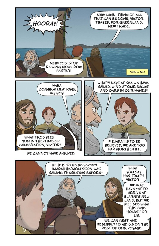 Book Preview For Leif Ericson's Voyage Page 7