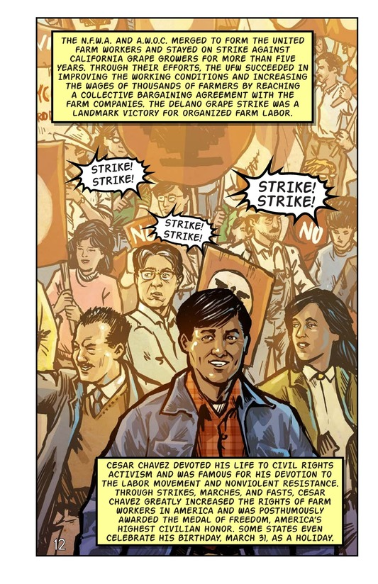 Book Preview For Cesar Chavez and the Delano Grape Strike Page 13