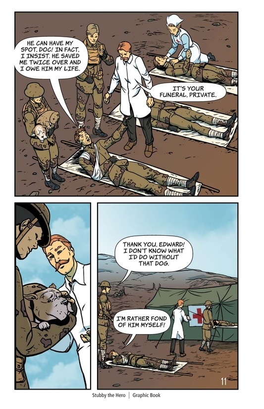 Book Preview For Stubby the Hero Page 12