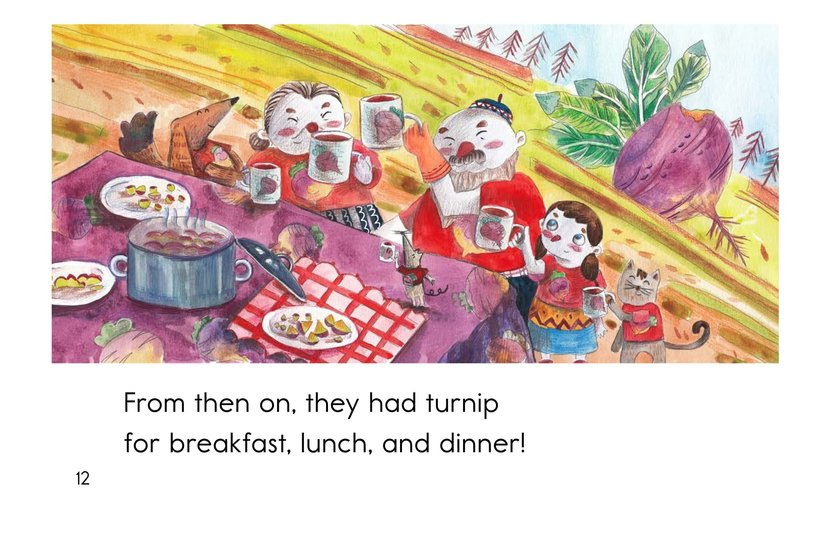 Book Preview For The Giant Turnip Page 12