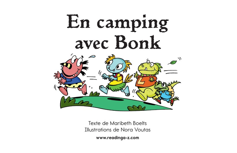 Book Preview For Camping with Bonk Page 2