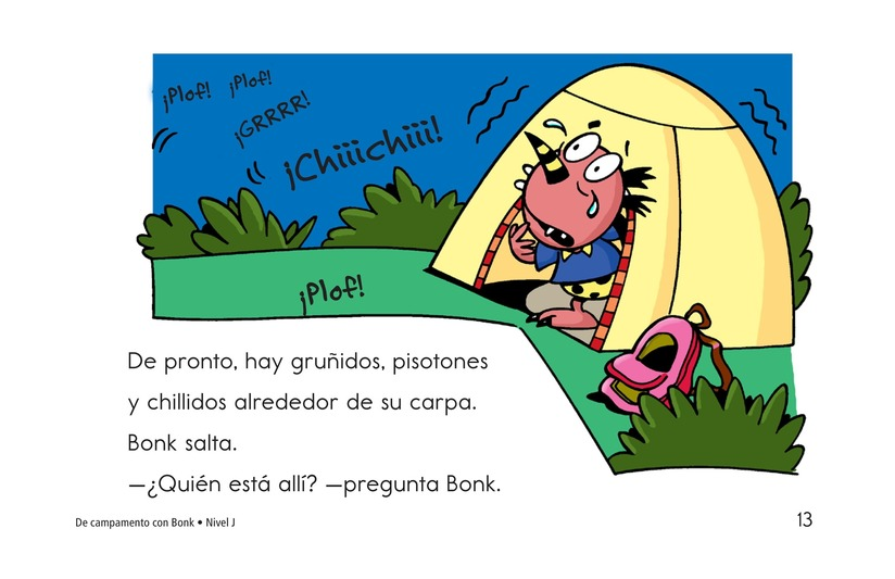 Book Preview For Camping with Bonk Page 13