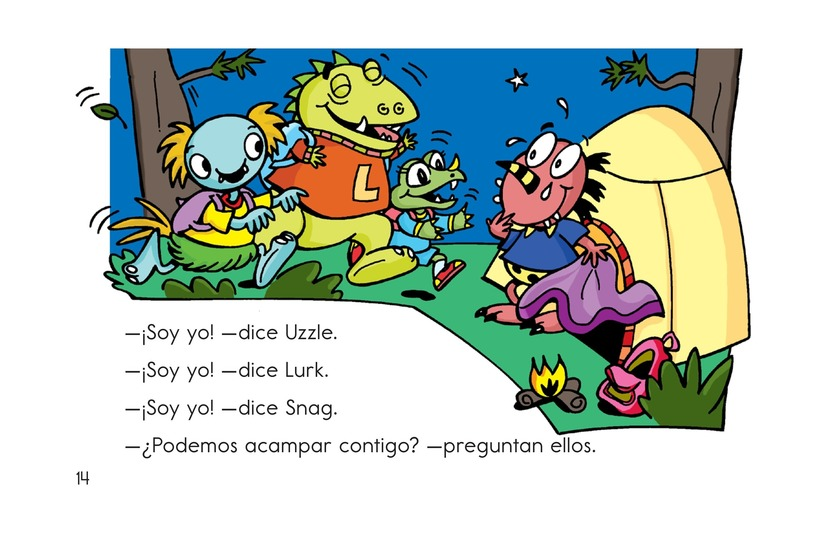 Book Preview For Camping with Bonk Page 14