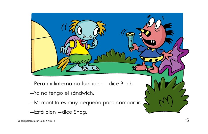 Book Preview For Camping with Bonk Page 15