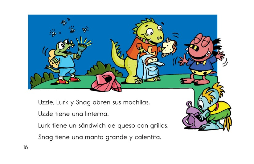 Book Preview For Camping with Bonk Page 16