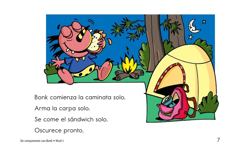 Book Preview For Camping with Bonk Page 7