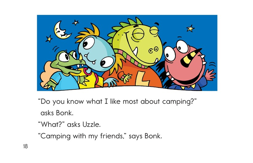 Book Preview For Camping with Bonk Page 18