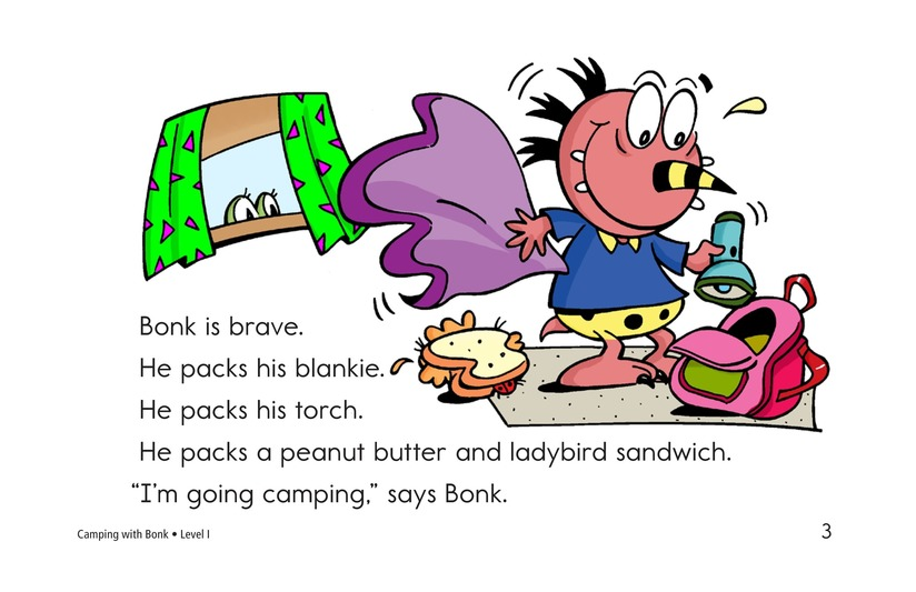 Book Preview For Camping with Bonk Page 3