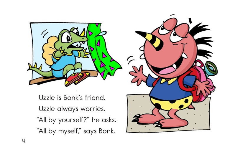Book Preview For Camping with Bonk Page 4