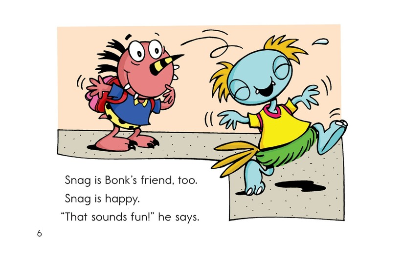Book Preview For Camping with Bonk Page 6