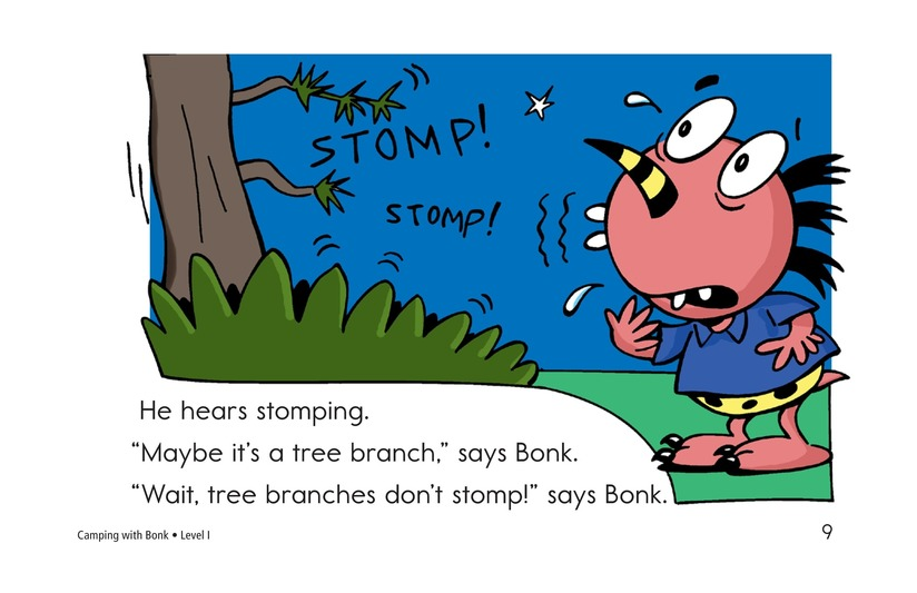 Book Preview For Camping with Bonk Page 9