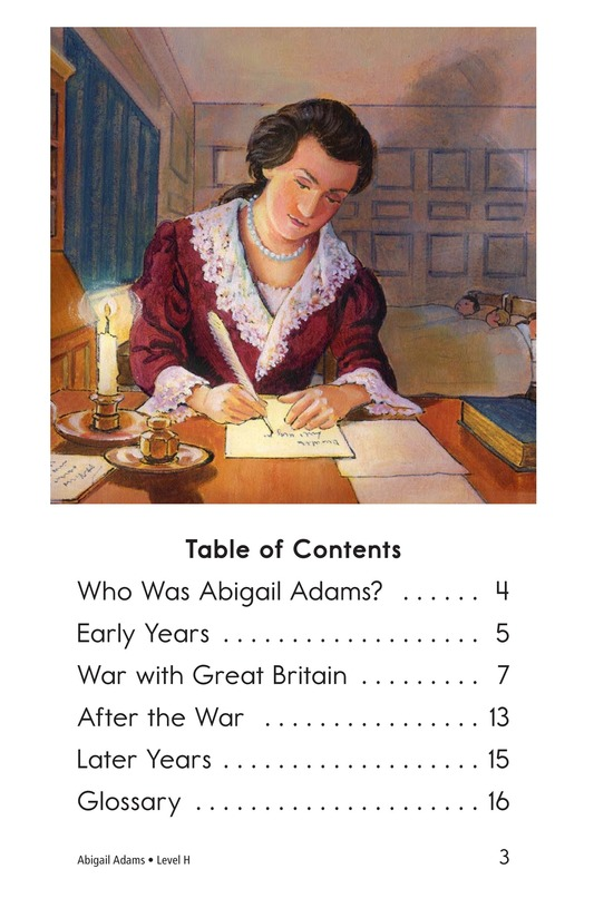 Book Preview For Abigail Adams Page 3