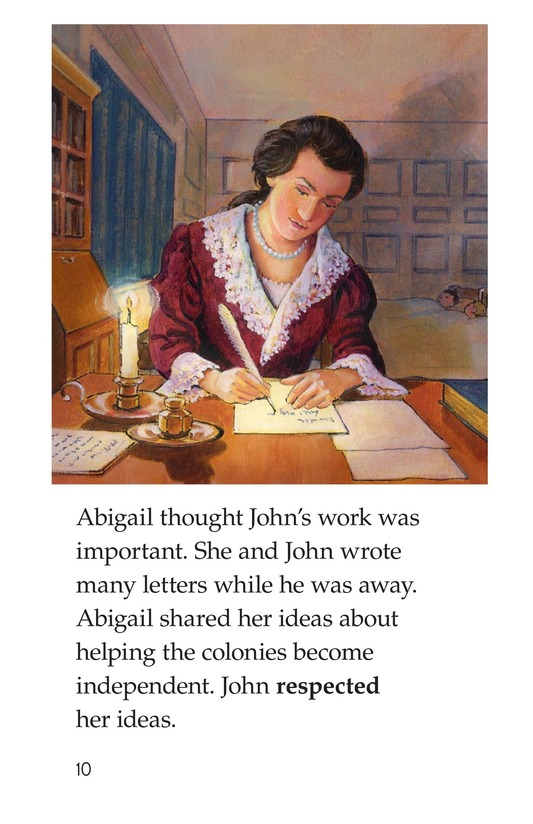 Book Preview For Abigail Adams Page 10