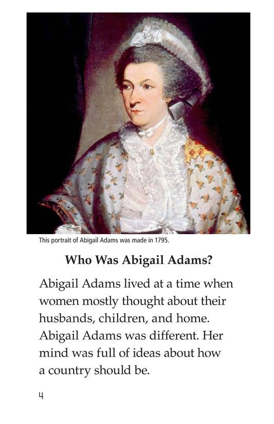 Book Preview For Abigail Adams Page 4