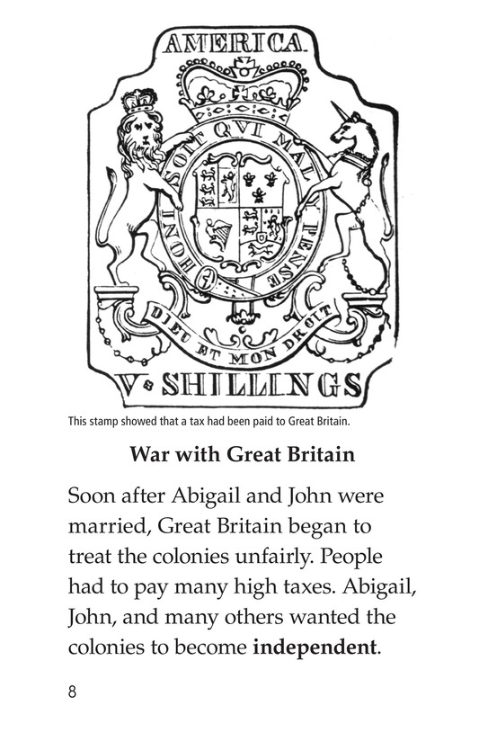 Book Preview For Abigail Adams Page 8