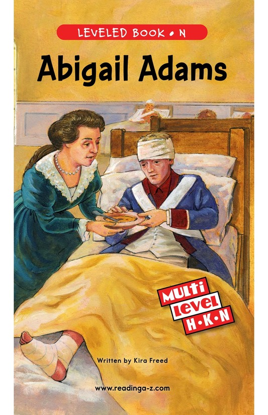 Book Preview For Abigail Adams Page 0