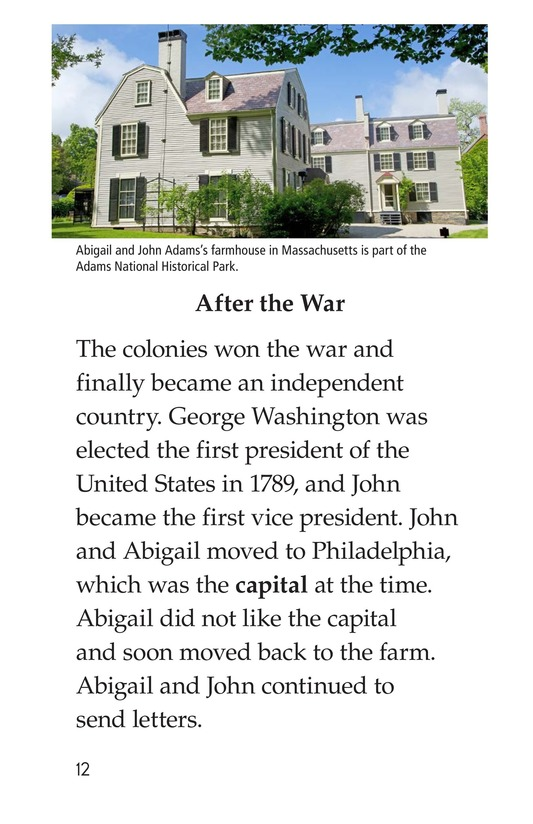Book Preview For Abigail Adams Page 12