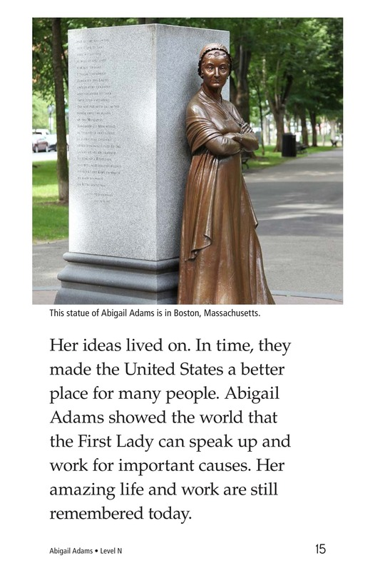 Book Preview For Abigail Adams Page 15