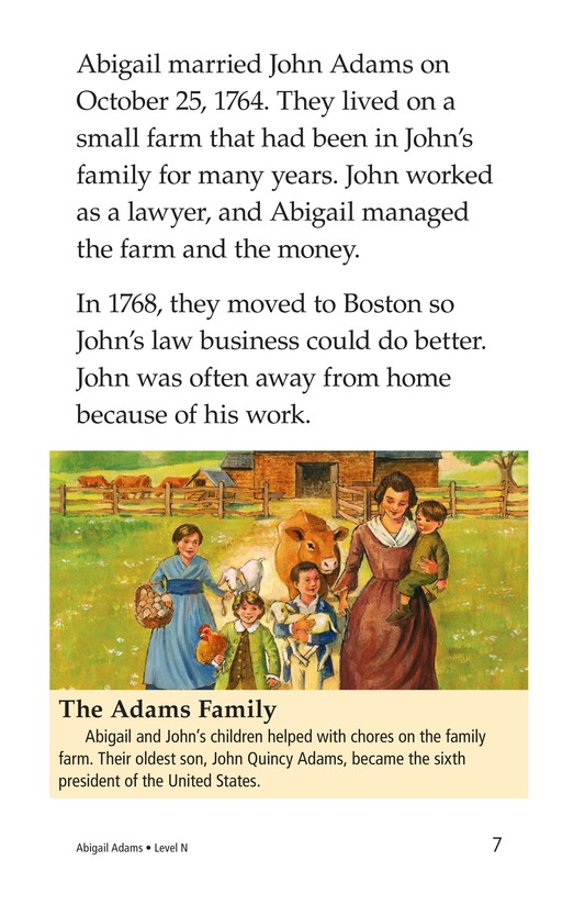 Book Preview For Abigail Adams Page 7