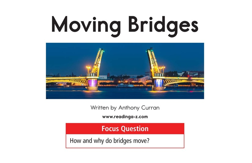 Book Preview For Moving Bridges Page 1