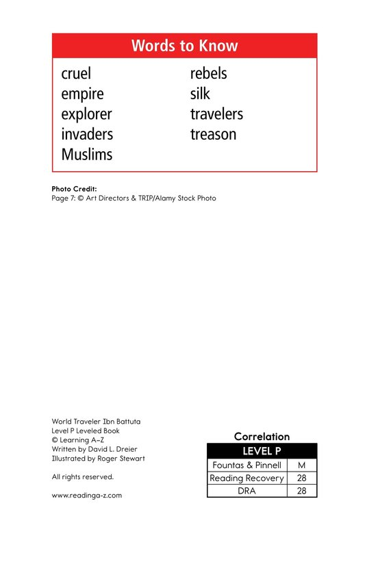 Book Preview For World Traveler Ibn Battuta Page 2