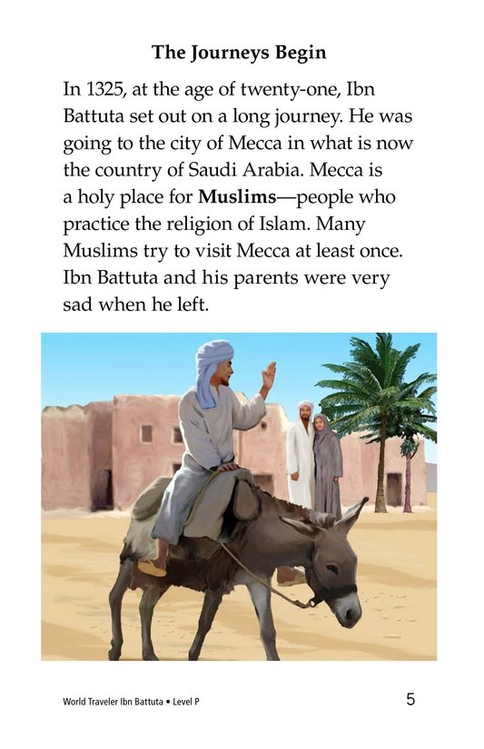 Book Preview For World Traveler Ibn Battuta Page 5