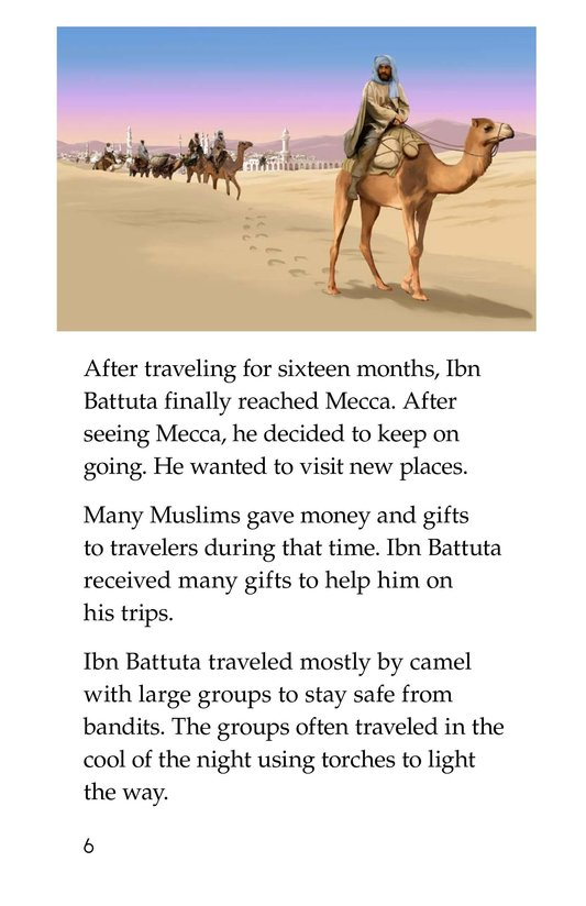 Book Preview For World Traveler Ibn Battuta Page 6