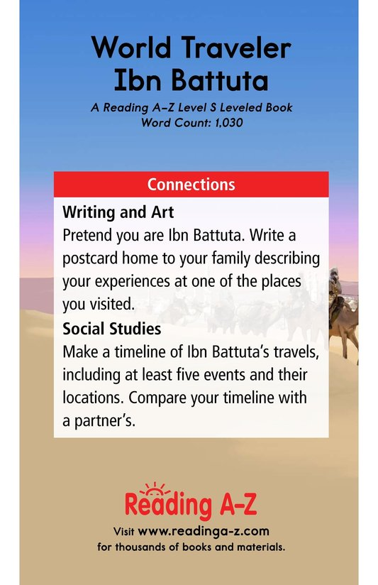 Book Preview For World Traveler Ibn Battuta Page 17
