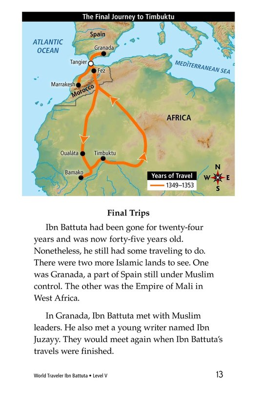 Book Preview For World Traveler Ibn Battuta Page 13