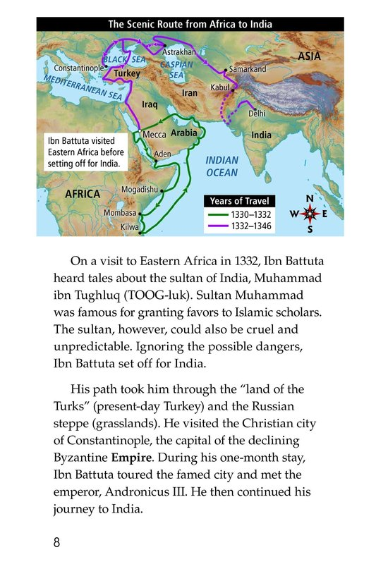 Book Preview For World Traveler Ibn Battuta Page 8
