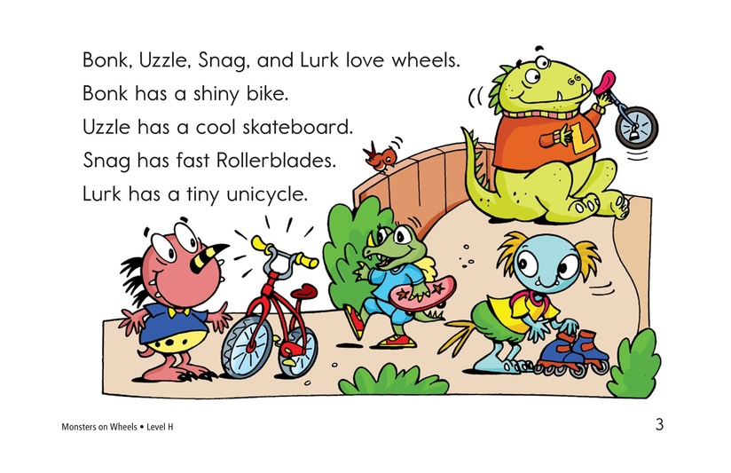 Book Preview For Monsters on Wheels Page 3
