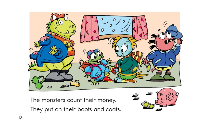 Book Preview For Monsters on Wheels Page 12