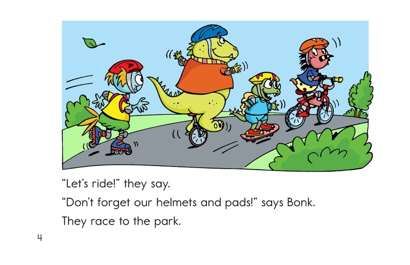 Book Preview For Monsters on Wheels Page 4