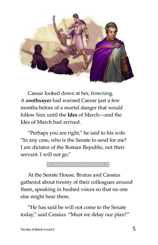 Book Preview For The Ides of March Page 5