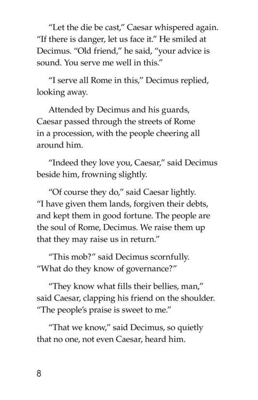 Book Preview For The Ides of March Page 8