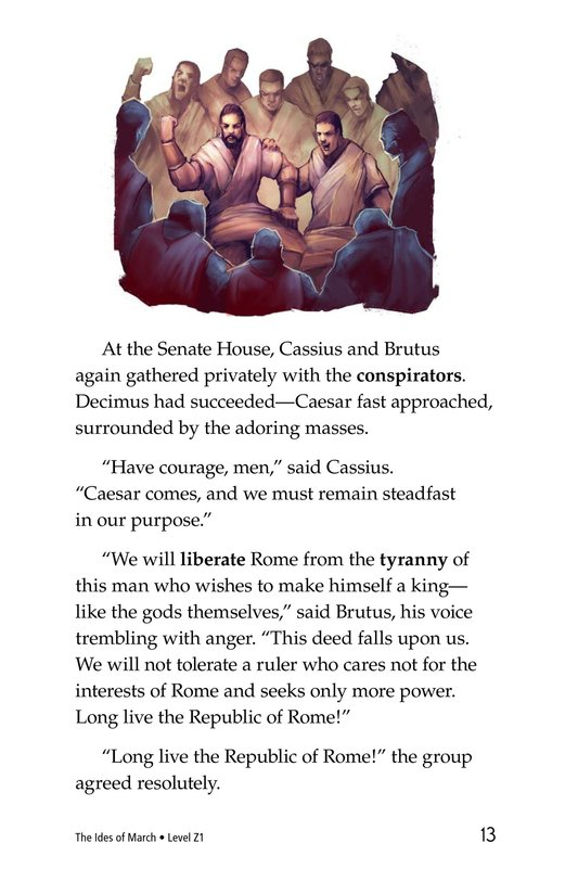 Book Preview For The Ides of March Page 13