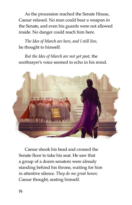 Book Preview For The Ides of March Page 14
