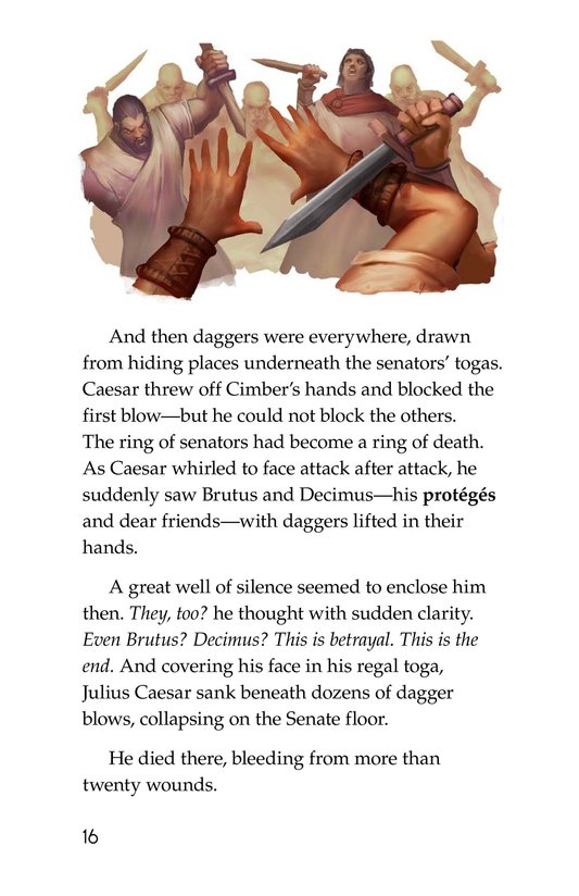 Book Preview For The Ides of March Page 16