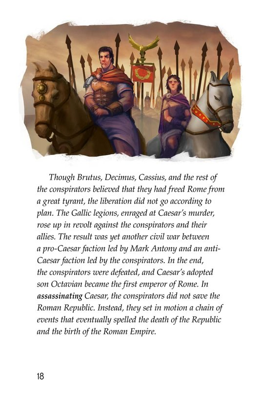 Book Preview For The Ides of March Page 18