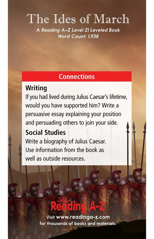Book Preview For The Ides of March Page 21