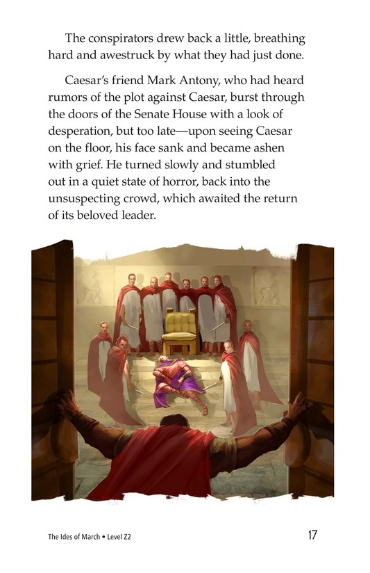 Book Preview For The Ides of March Page 17