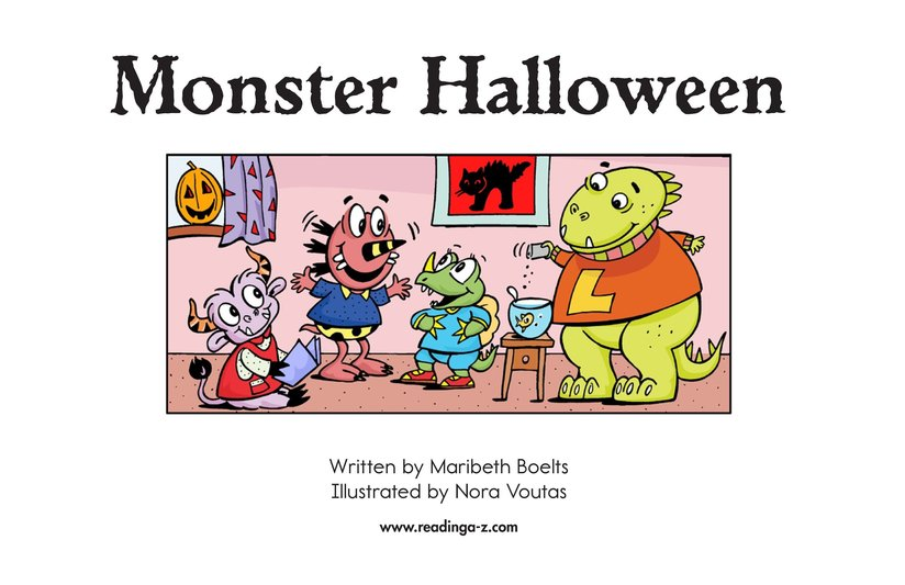 Book Preview For Monster Halloween Page 2