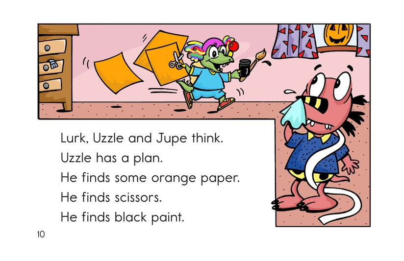 Book Preview For Monster Halloween Page 10