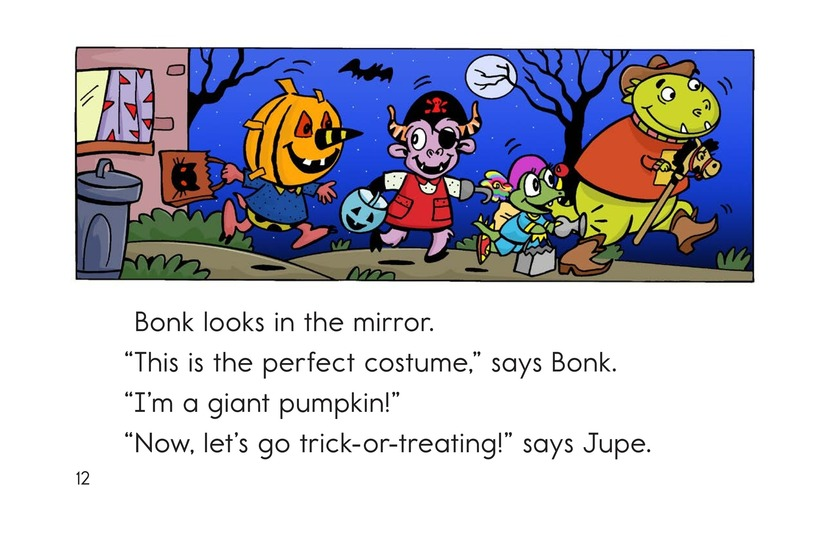 Book Preview For Monster Halloween Page 12