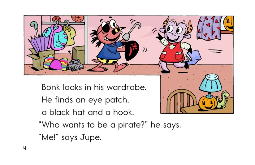 Book Preview For Monster Halloween Page 4