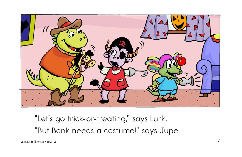 Book Preview For Monster Halloween Page 7
