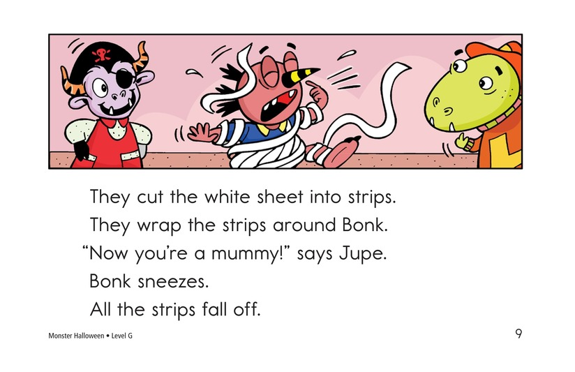 Book Preview For Monster Halloween Page 9