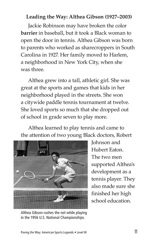 Book Preview For American Sports Legends Page 11