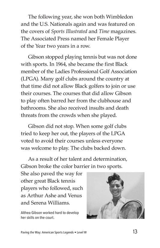 Book Preview For American Sports Legends Page 13