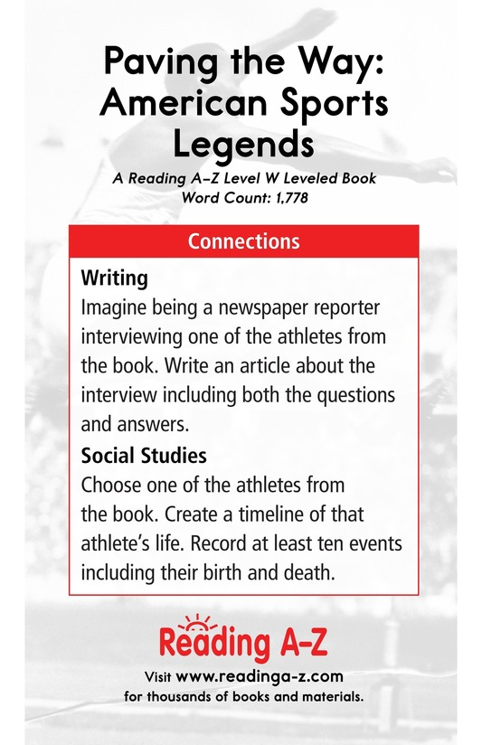 Book Preview For American Sports Legends Page 17